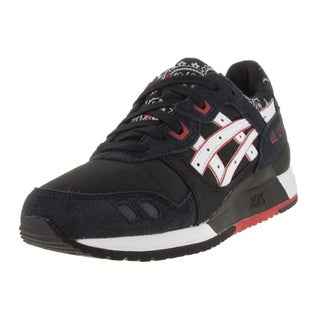 Asics Kid's Gel-Lyte Iii Black/White Running Shoe
