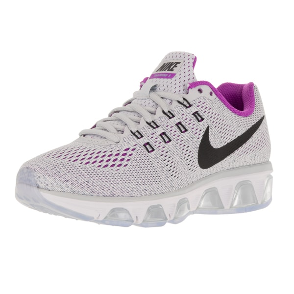 e743e37720 ... Women's Athletic Shoes. Nike Women's Air Max Tailwind 8  White/Black/Blue Grey