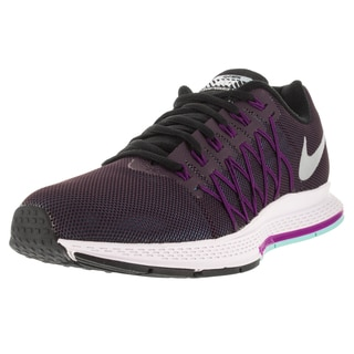 Nike Women's Air Zoom Pegasus 32 Flash Nbl Purple/Rflct Slvr/Vvd Purple Running Shoe