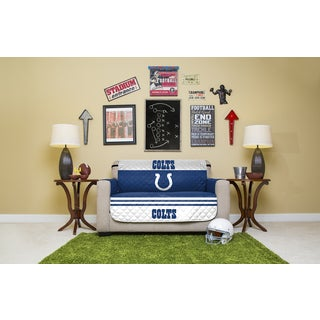 Indianapolis Colts Licensed NFLPolyester Microfiber Love Seat Protector