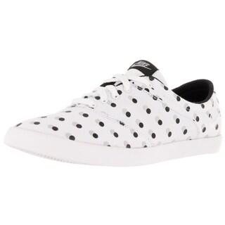Nike Women's Mini Sneaker Lace Print White/White/Black/Wolf Grey Casual Shoe