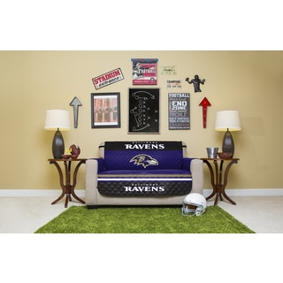 Baltimore Ravens Licensed NFLLove Seat Protector