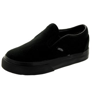 Vans Toddlers' Black Classic Slip-on Skate Shoes