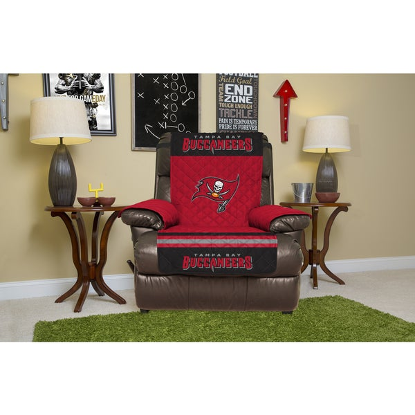 T&a Bay Buccaneers Multicolored Licensed NFL Recliner Protector  sc 1 st  Overstock.com & Tampa Bay Buccaneers Multicolored Licensed NFL Recliner Protector ... islam-shia.org