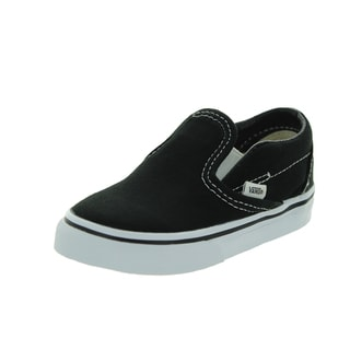 Vans Toddlers Classic Slip-on Black Skate Shoe