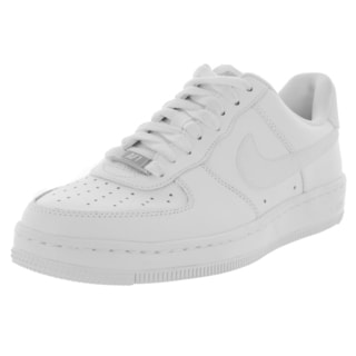 Nike Women's Af1 Ultra Force Ess White/White/Wolf Grey Basketball Shoe