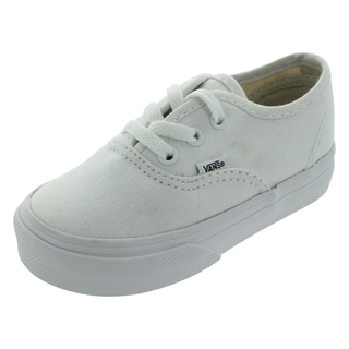Vans Authentic Toddlers' White Skate Shoes