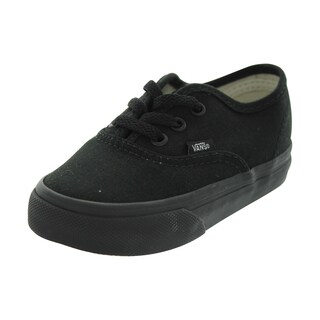 Vans Authentic Black/Black Skate Shoes