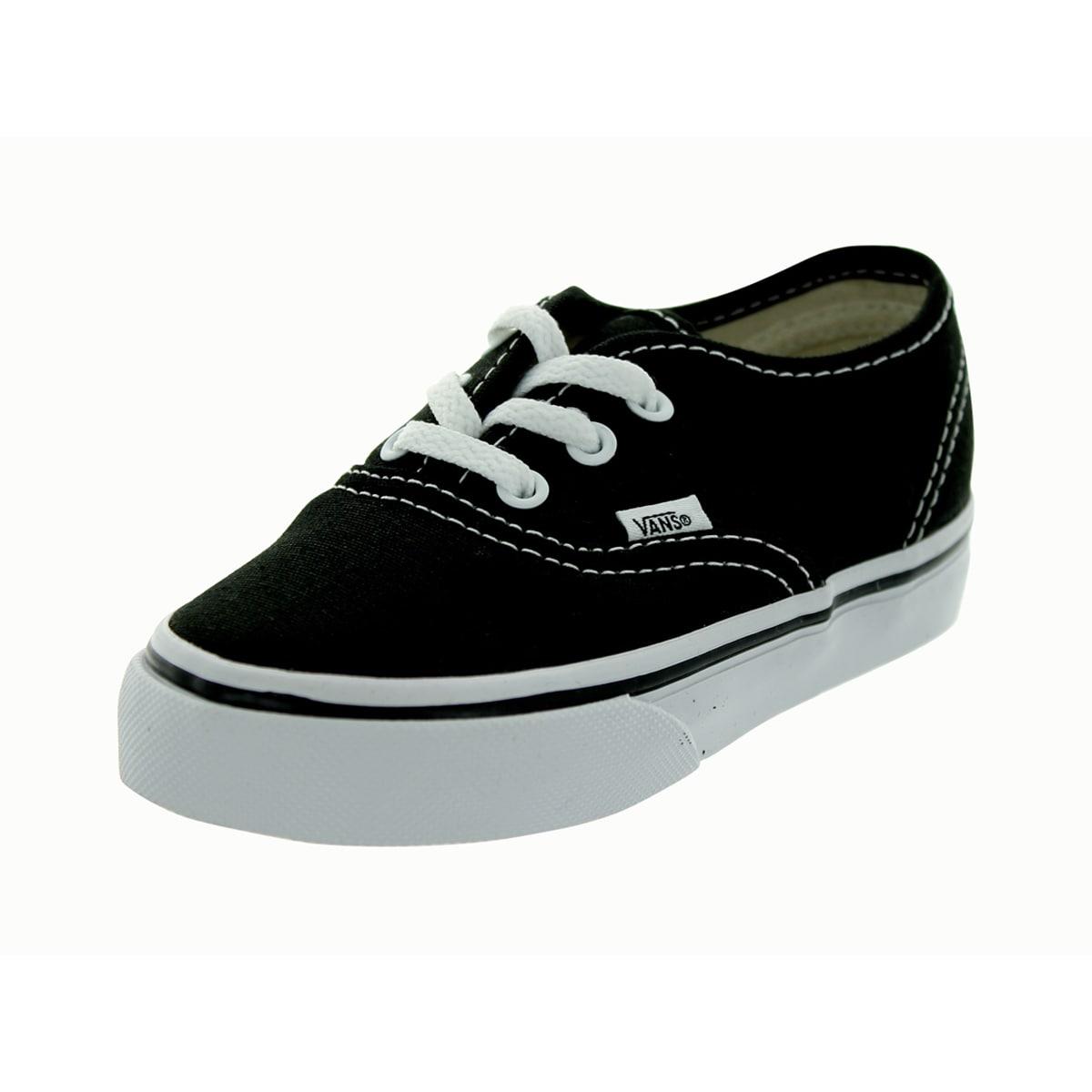 Vans Authentic Infants Black Shoes (6 Infants US), Girl's...