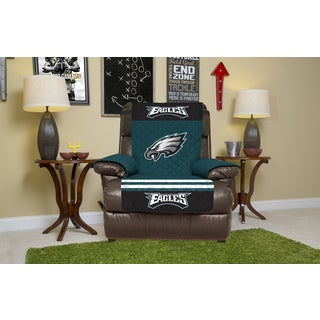 Philadelphia Eagles Licensed Multicolored Polyester Licensed NFL Recliner Protector