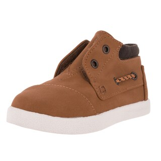 Toms Toddlers' Tiny Bimini High Wheat Nubuck Casual Shoe