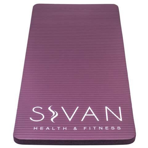 Sivan Health and Fitness Purple 15-millimeter Yoga Knee Pad