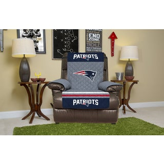 New England Patriots Licensed NFLPolyester Microfiber Recliner Protector