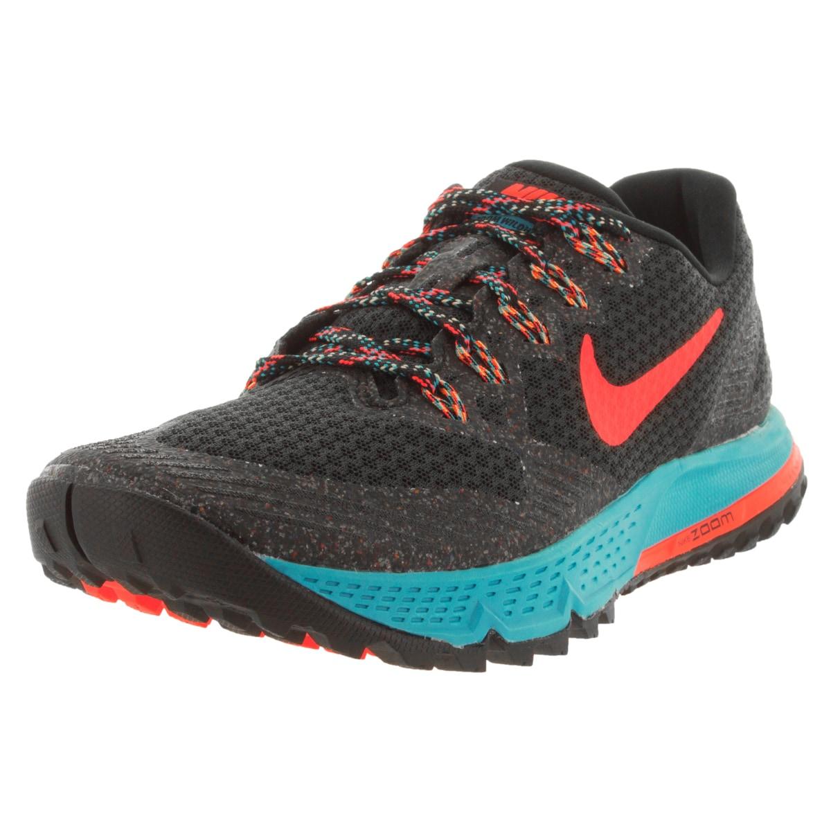Nike Women's Air Zoom Wildhorse 3 Black/Hyper Orange/Blue...