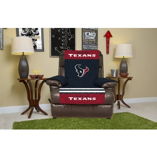 Houston Texans Licensed NFLMulticolored Polyester Recliner Protector