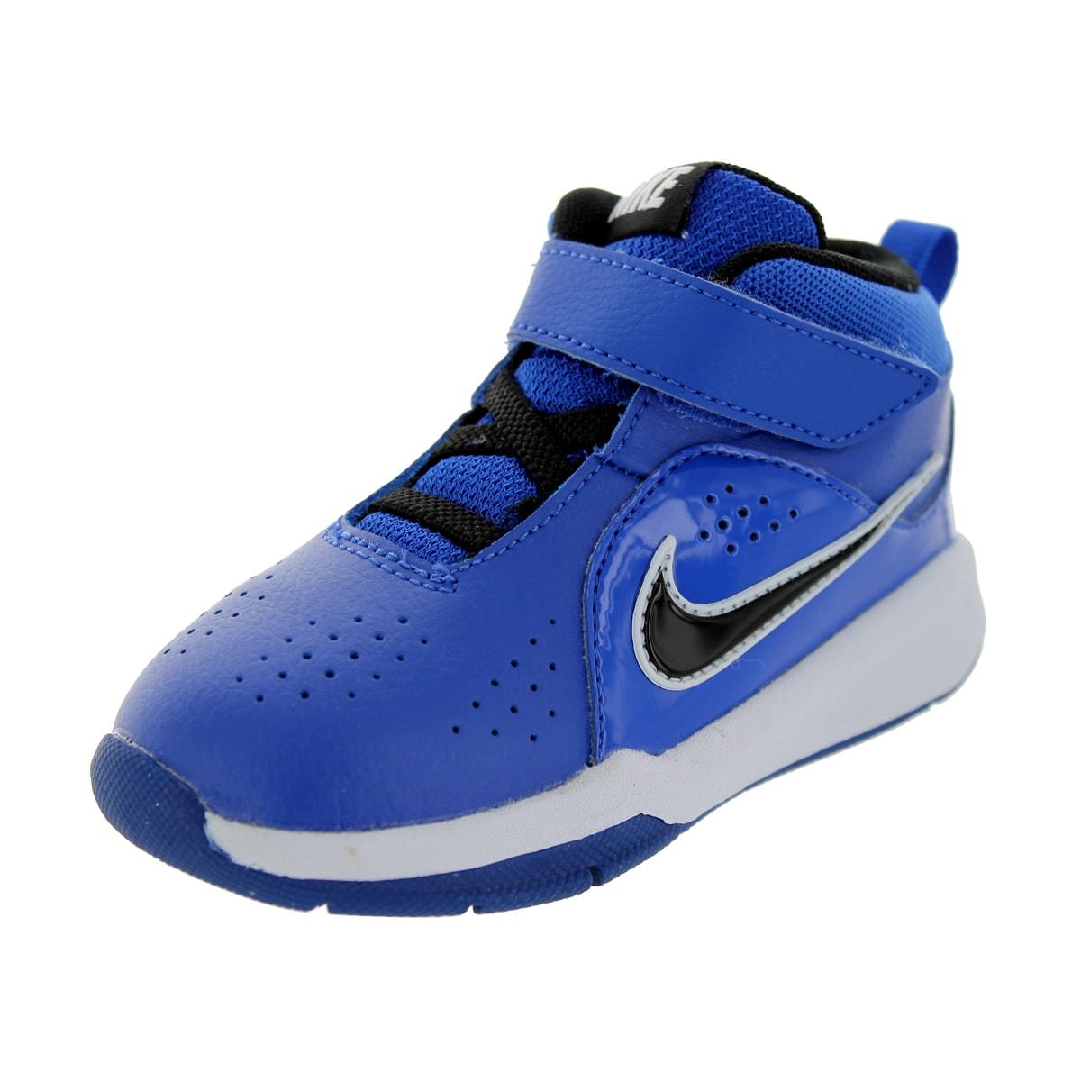 Nike Toddlers' Team Huse D 6 (TD) Game Royal/Black/Game R...