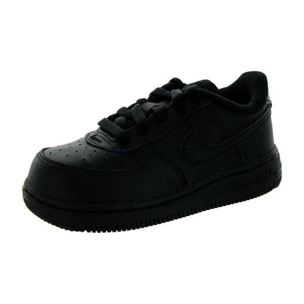 Nike Toddlers' Force 1 (Td) Black Basketball Shoe