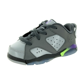 Nike Toddlers' Jordan 6 Retro Low Bt Dark Grey/UltrWlf /Ghst G Basketball Shoe