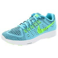 Nike Women's Lunartempo Clearwater/Flsh Lime Black/White Running Shoe