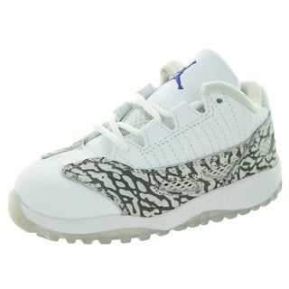 Nike Jordan Toddlers Jordan 11 White Basketball Shoe