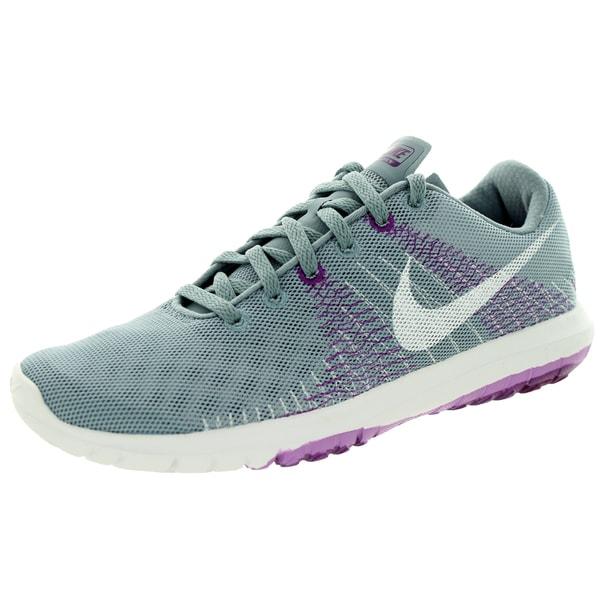 online store 582a7 3cc6c Shop Nike Women's Flex Fury /White/Bld Brry Running Shoe ...