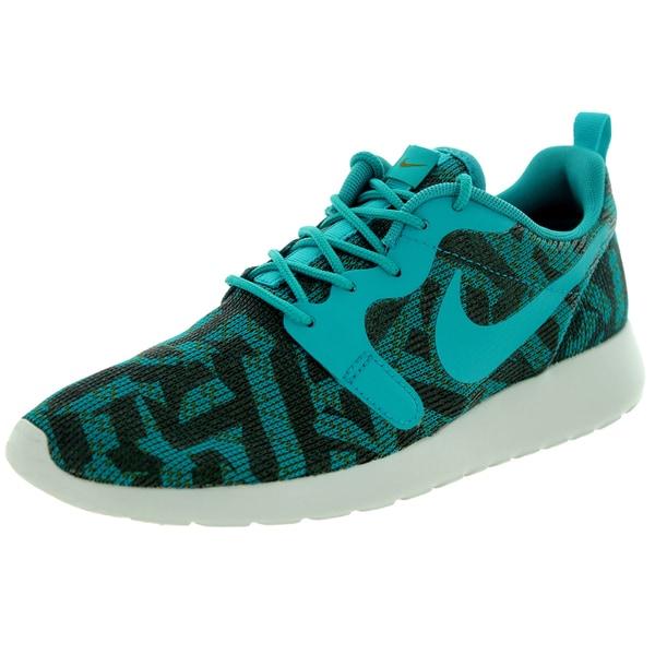 b4d4ded38633 Shop Nike Women s Roshe One Kjcrd Mlt Green Rdnt Emrld  Running Shoe ...