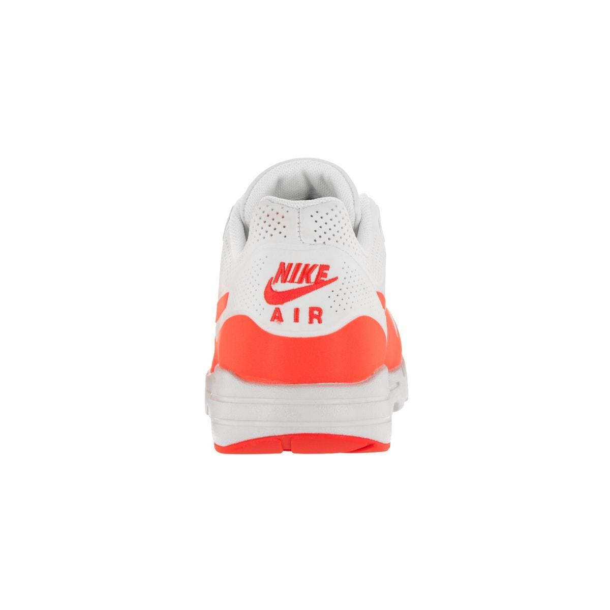 Nike Women's Air Max 1 Ultra Moire Summit WhiteTotal Crimson Running Shoe