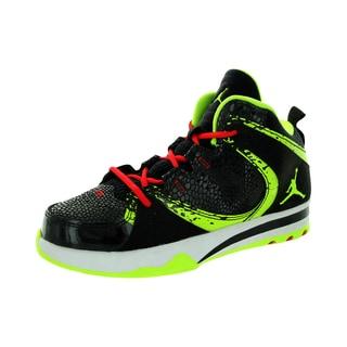 Nike Kid's Jordan Phase 23 2 (Ps) Black/Volt/Fire Red Basketball Shoe