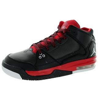 Nike Jordan Kid's Jordan Flight Origin Bg Black/White/Gym Red Basketball Shoe