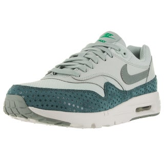 Nike Women's Air Max 1 Ultra Essentials Light Silver/Shrk/ Trq/Spg Running Shoe