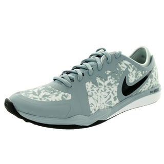 Nike Women's Dual Fusion Tr 3 Print Dove Grey/Black/ Mist/White Training Shoe