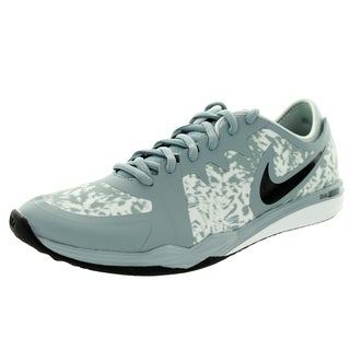 Nike Women's Dual Fusion Tr 3 Print Dove Grey/Black/ Mist/White Training Shoe