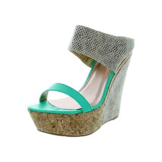 Maker's Women's Winny 4 Aqua Dress Shoe