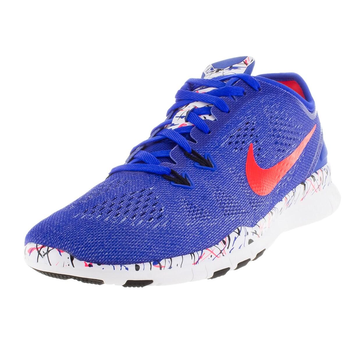 Nike Women's Free 5.0 Tr Fit 5 Prt ue/Brgh/Black/White Tr...