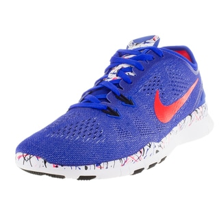 Nike Women's Free 5.0 Tr Fit 5 Prt ue/Brgh/Black/White Training Shoe