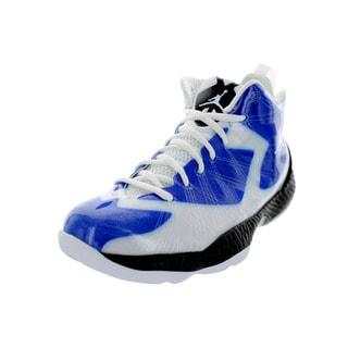 Nike Jordan Kid's Air Jordan 2012 Lite (Gs) White/White/Game Royal/Black Basketball Shoe