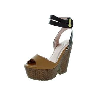 Maker's Women's Lily 3 Brown Dress Shoe