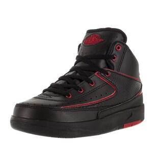 Nike Jordan Kid's Jordan 2 Retro Bp Black/Varsity Red Basketball Shoe