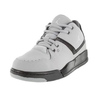 Nike Jordan Kid's Jordan Flight 23 Bp Wolf Grey/Black/Grey Basketball Shoe