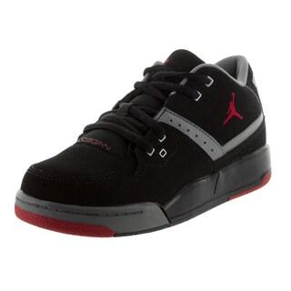 Nike Jordan Kid's Jordan Flight 23 Bp Black/Gym Red/Cool Grey/White Basketball Shoe