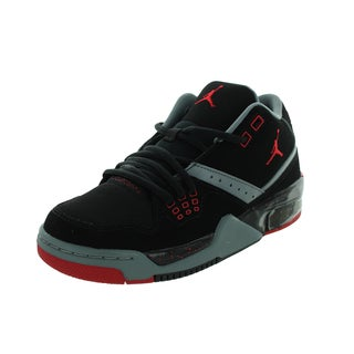 Nike Jordan Kid's Jordan Flight 23 Bg Black/Gym Red/Cool Grey/White Basketball Shoe
