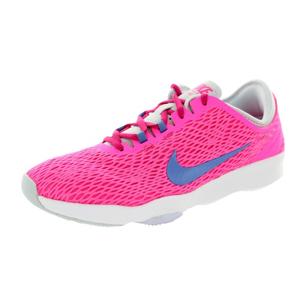ab9e535f5ea8 Shop Nike Women s Zoom Fit Pink Pow Polar Frbrry  Training Shoe ...