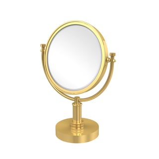 Allied Brass 8-inch 4x Magnification Vanity Top Make-up Mirror