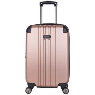 Kenneth Cole Reaction 'Reverb' Lightweight Hardside ABS 8-Wheel Expandable Spinner 20-inch Carry On Suitcase (Option: rose gold)