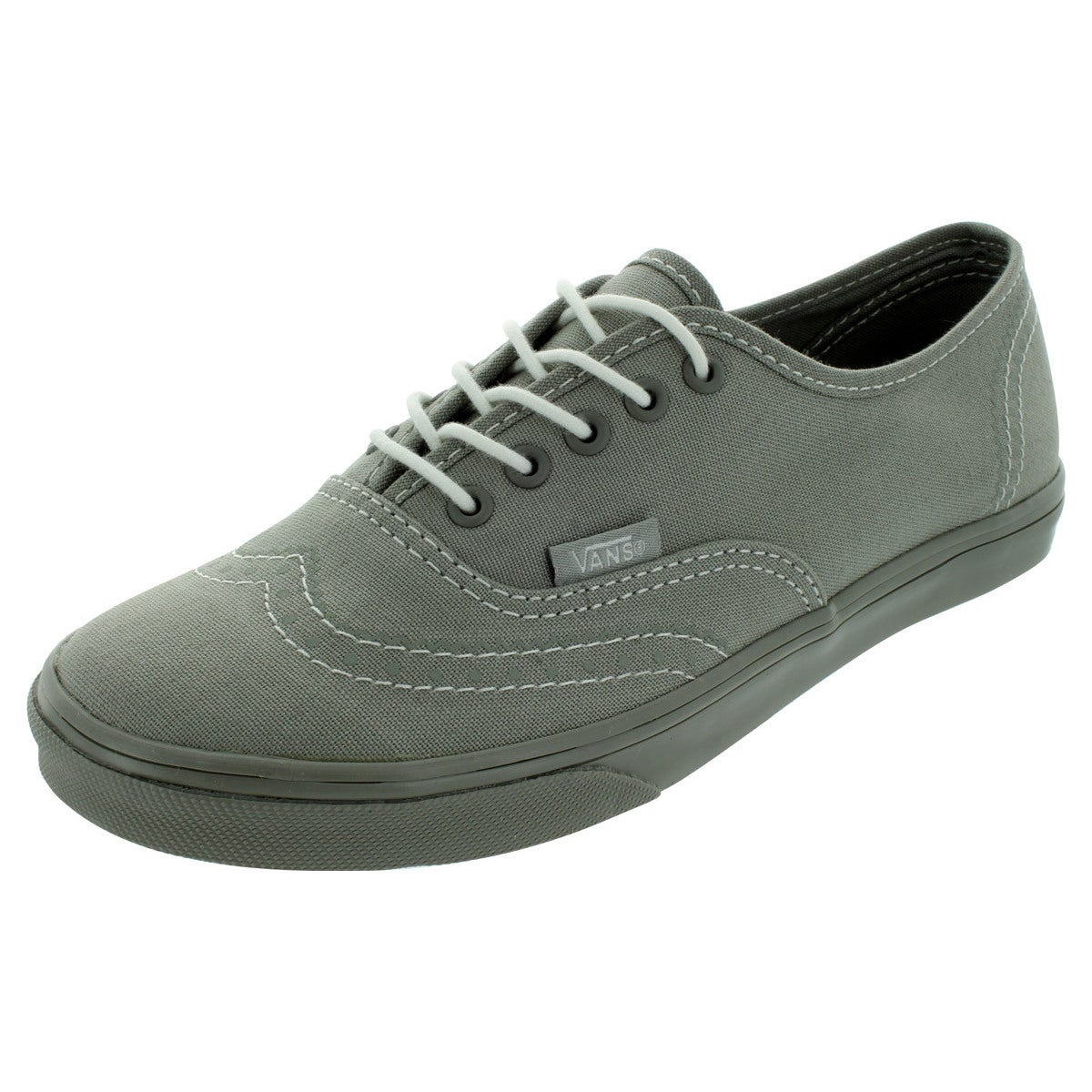 Vans Authentic Lo Pro (Printed Oxford) Casual Shoes (Grey...
