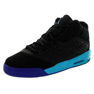 Nike Jordan Kid's Jordan New School Bg Black/Blue Lagoon/d Basketball Shoe