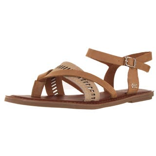 c6b8dfcb3 Buy Flat TOMS Shoes Women's Sandals Online at Overstock | Our Best ...