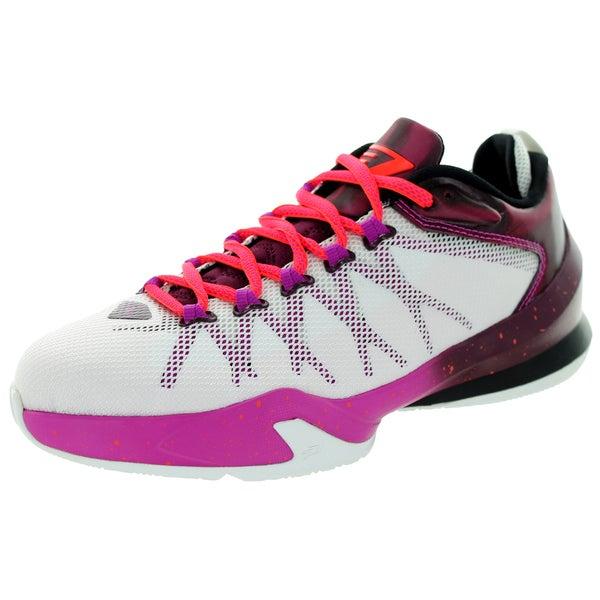 Shop Nike Jordan Kid s Jordan Cp3.Viii Ae Bg White -Brdx  Basketball ... 2dc0437e5