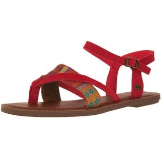 Toms Women's Lexie Cayenne Multi Sandal