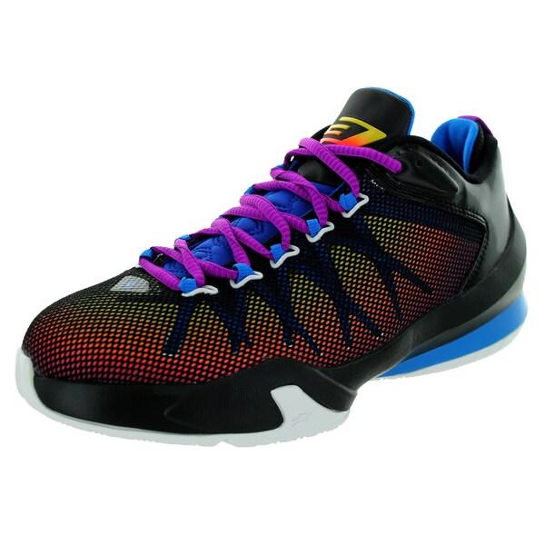 f2fbeb17c96 Shop Nike Jordan Kid's Jordan Cp3.Viii Ae Bg Black/Vvd Purple ...